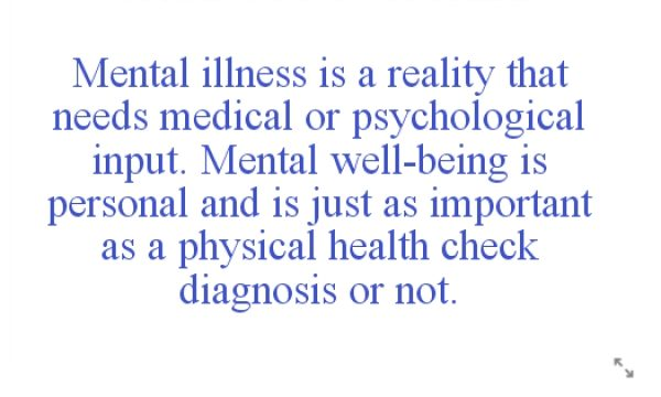 Mental Health is not for Sale!!!